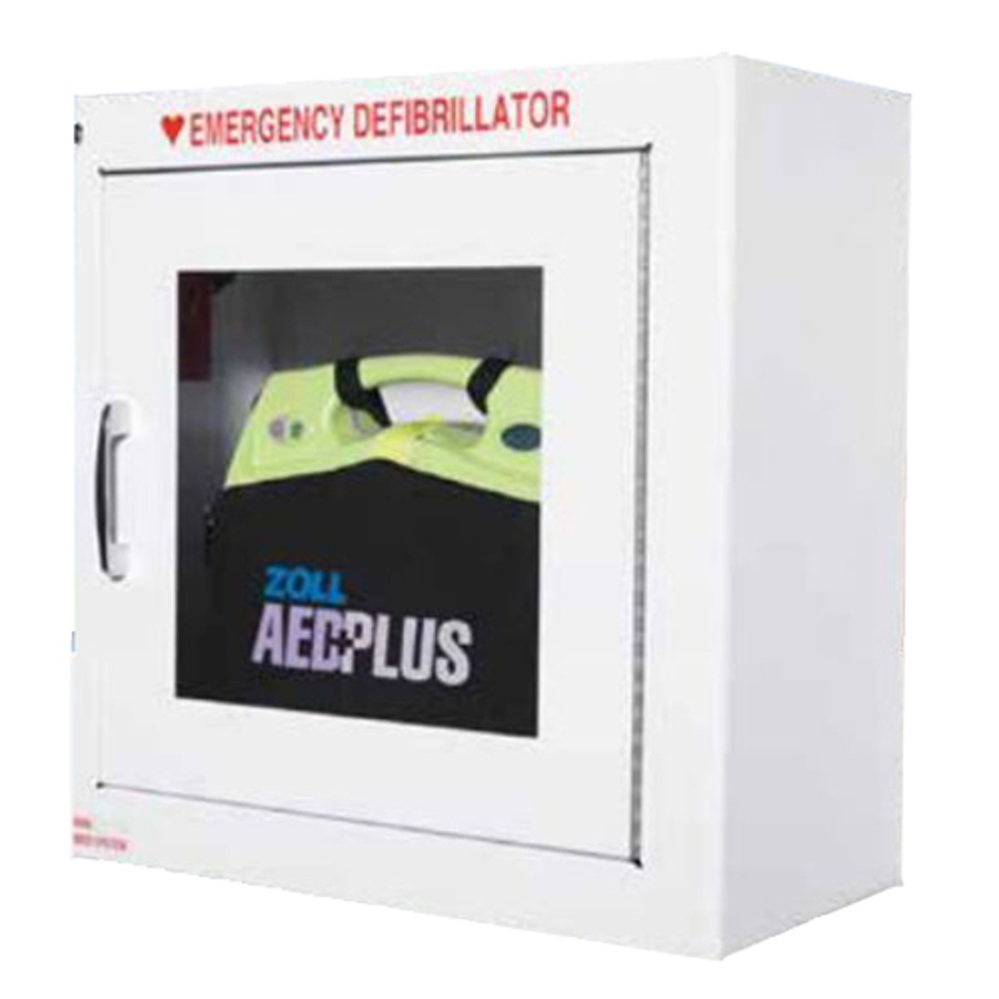 """AED 9"""" Standard Wall Cabinet with Alarm 8000-0855"""