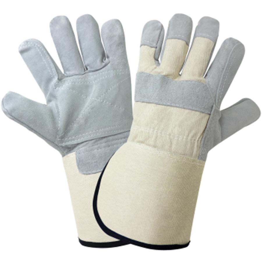 2250GCDP-10(XL)- Leather Palm, Gunn Cut, Double Palm Glove