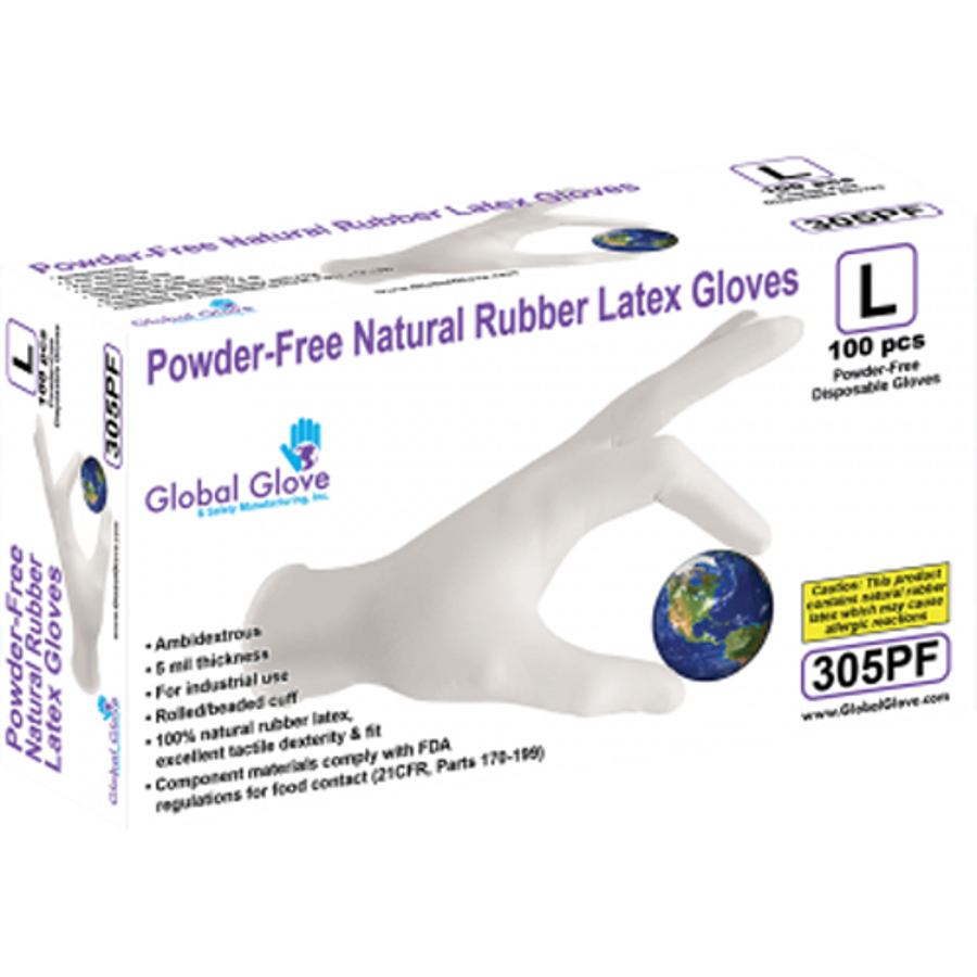 305PF Disposables - Industrial Grade Latex Glove