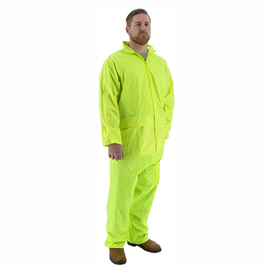 71-2040 2-Piece Hooded Waterproof Rain Suit