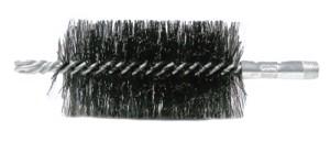 """2-1/2"""" Double Spiral Flue Brush, .012 Steel Fill"""