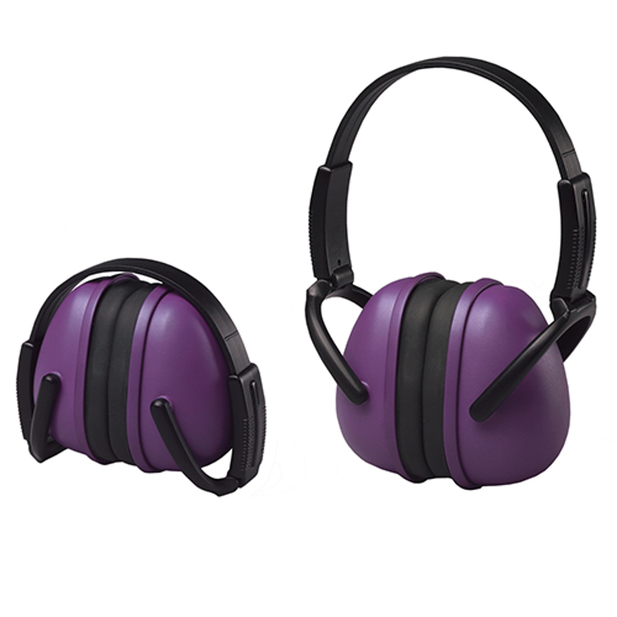 239 Foldable Purple Earmuff
