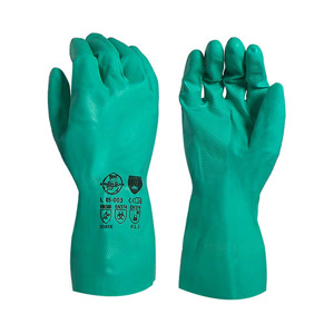 15 Mil Nitrile, Unsupported, Flocked Lined