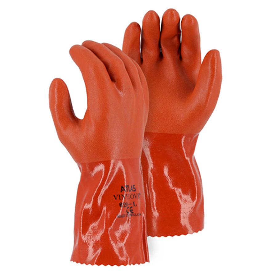 3702A Atlas Double Dipped 12 PVC Glove