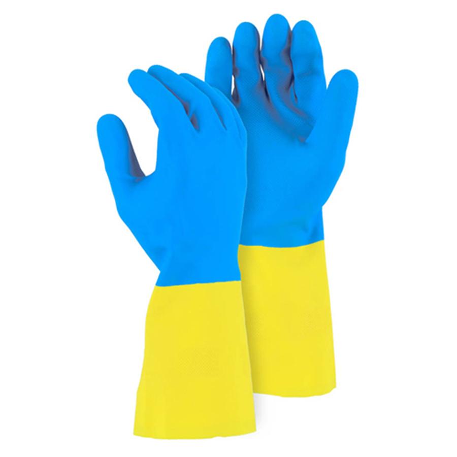 2X-Large, 4055 28 MIL 12 Neoprene over Latex Glove