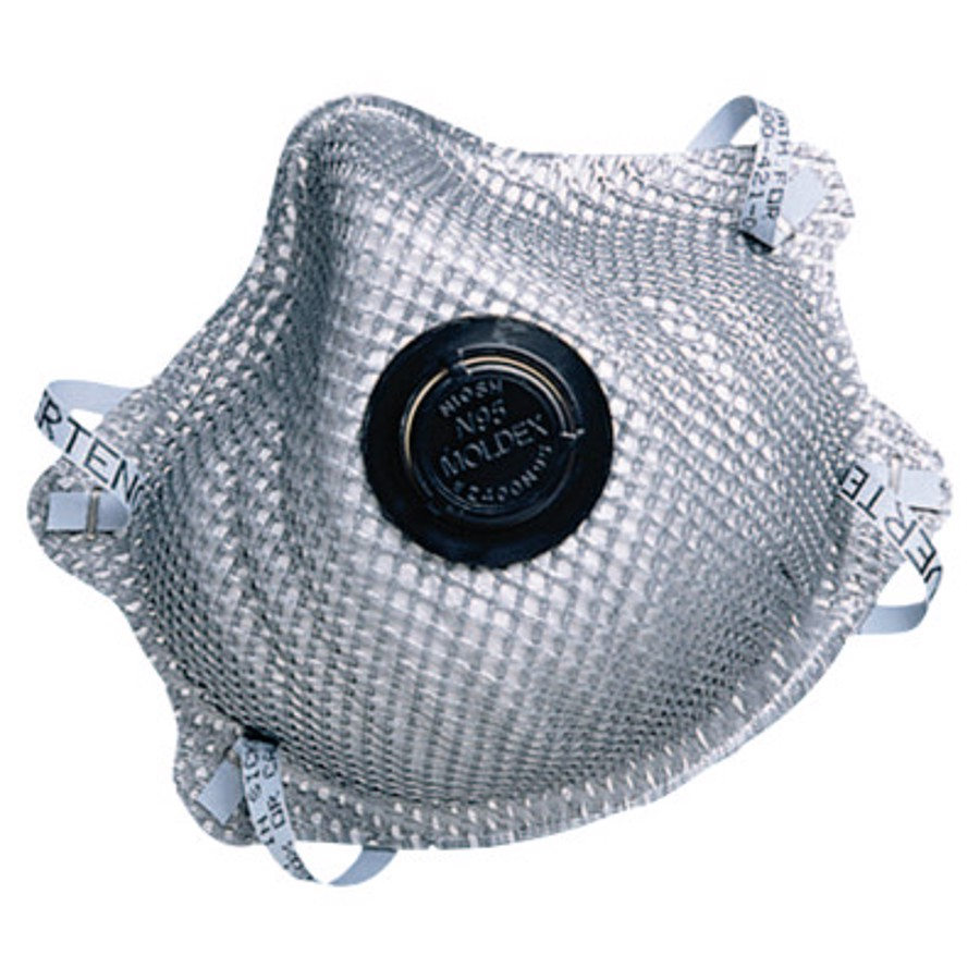 2400 Series N95 Particulate Respirators, Half-facepiece, M/L, 10/bag