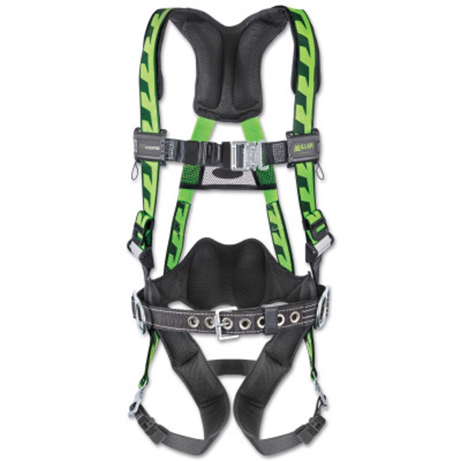 AirCore (Steel) Stretchable Harness, AC-QC-BDP/UGN, Green, Universal