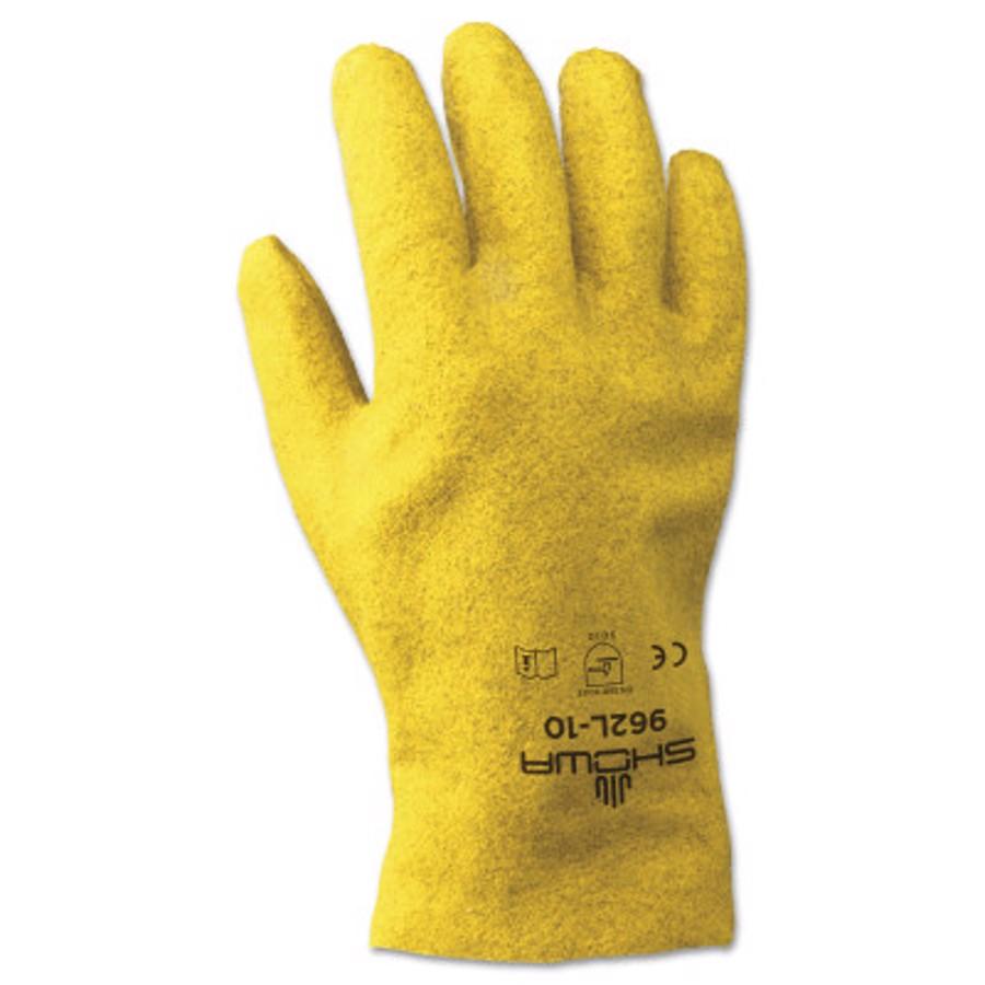 926 Gloves, Size 9, PVC Coated, Medium, Yellow