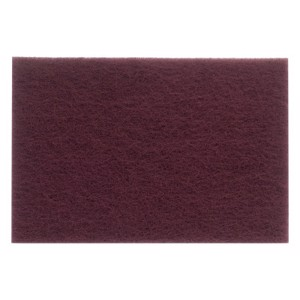 Hand Pads, Very Fine, Aluminum Oxide, Maroon, Rust Removal/Light Sanding