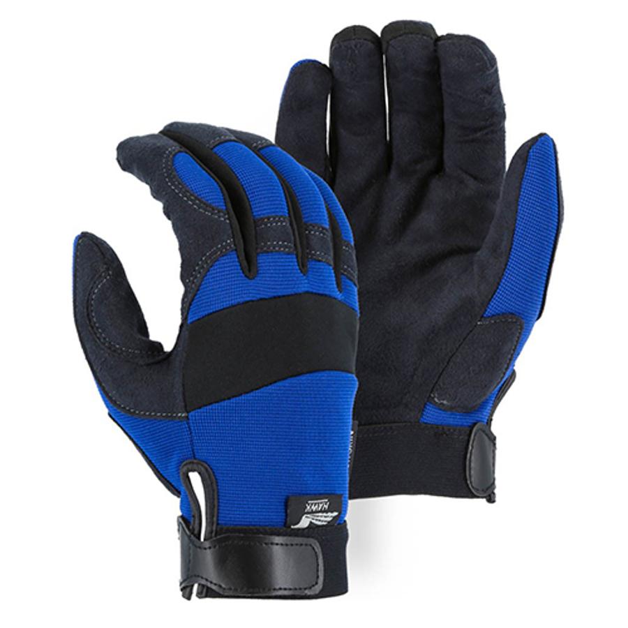 Armor Skin Knit Back Mechanics Glove 2137BL, Large