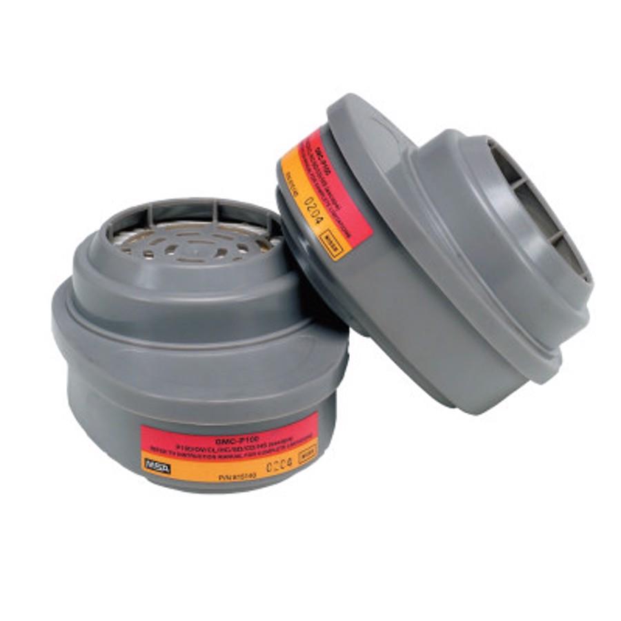 Advantage Respirator Cartridge, Organic Vapor/Acid Gas, GMC, P100