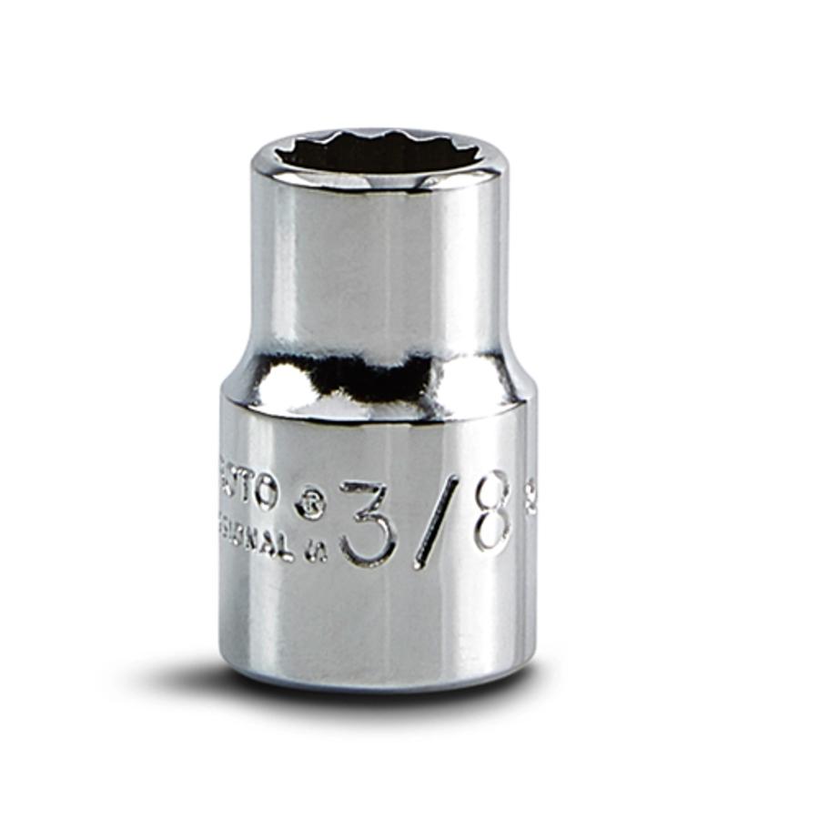 "3/8"" Drive Socket - 12 Point, J5212"