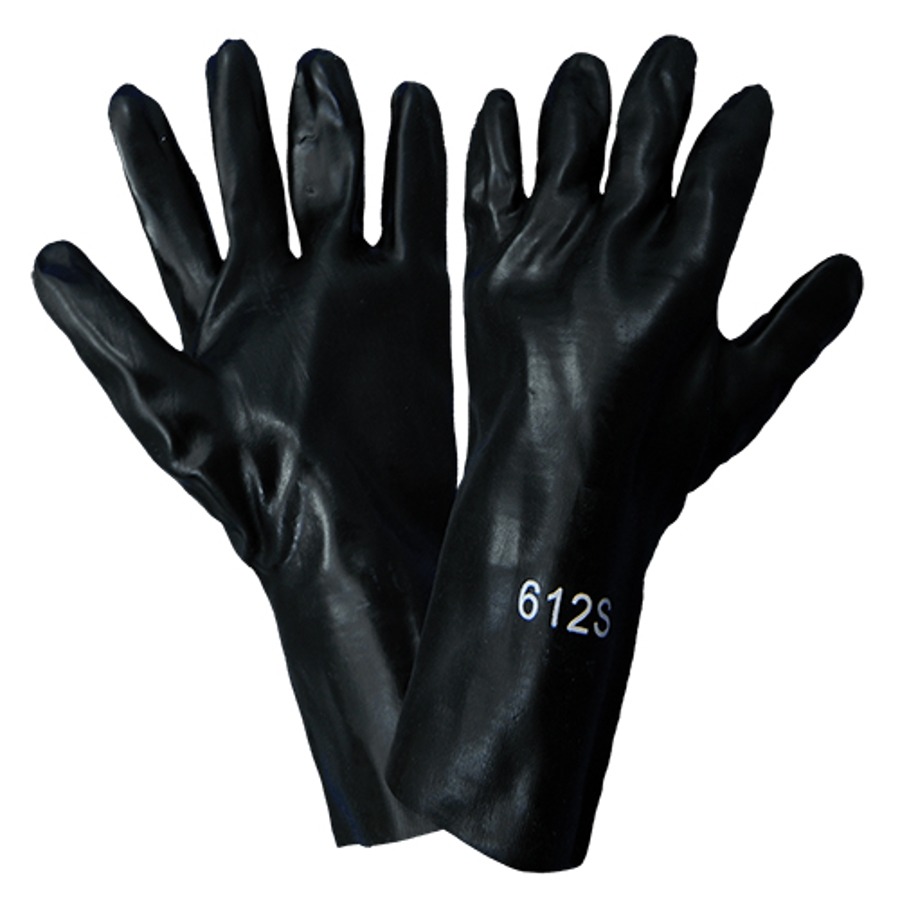 612S- Chemical Resistant Supported Neoprene, PVC and Nitrile Glove