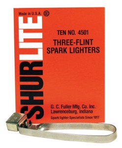 Fuller Spark Lights 4501B Lighter, Tri-Flint