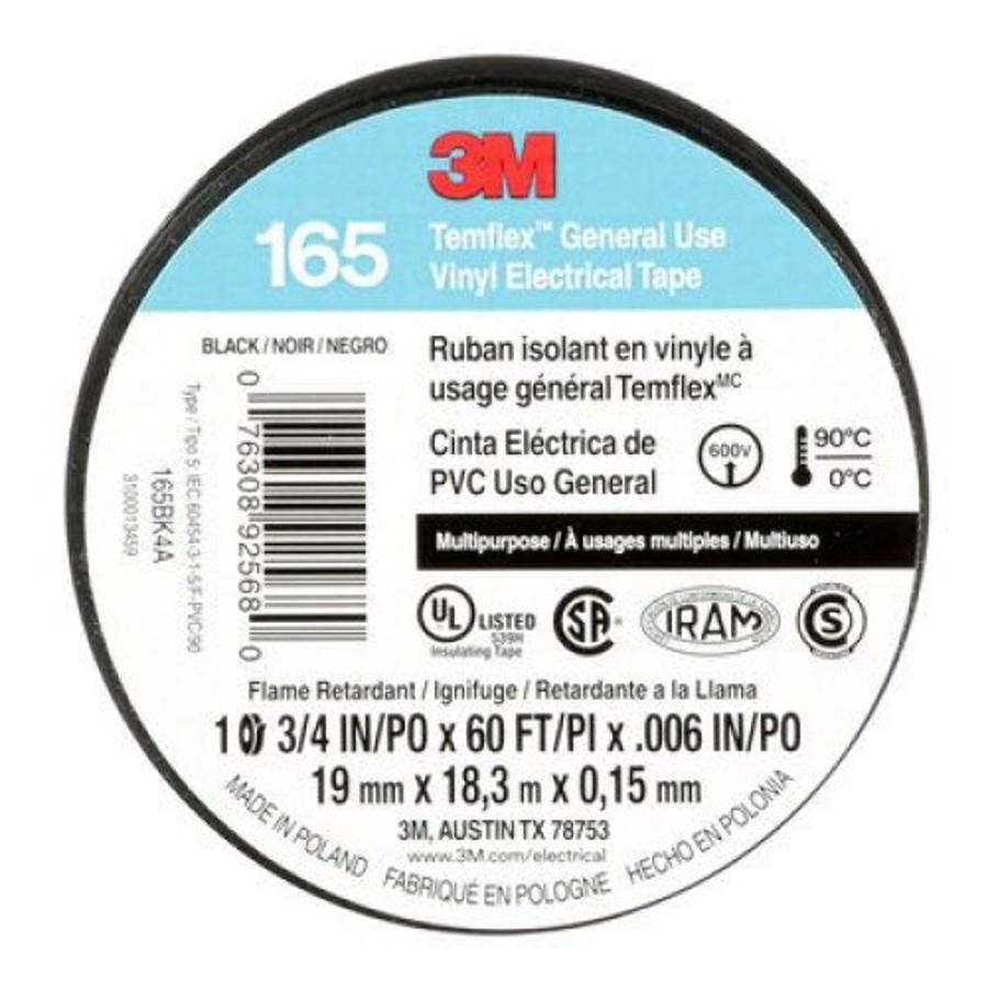 "165 3/4""X60' Temflex Vinyl Electrical Tape"