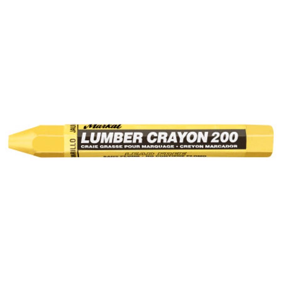 #200 Lumber Crayons, Yellow