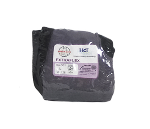 15g ExtraFlex Gray Nylon Liner With Black HCT Micro Foam Nitrile Palm Coating, Vend Packed, 2X-Large