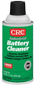 Battery Cleaner, 12 oz Aerosol Can, Odorless