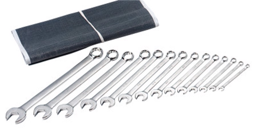 14 Piece Combination Wrench Sets, 12 Points, Metric