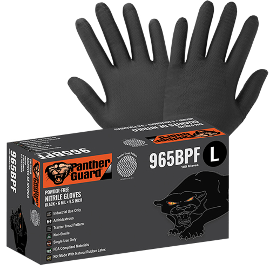 965BPF Panther-Guard, Disposables - Industrial Grade Nitrile Glove