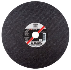 "A-SG Chop Saw Cut-Off Wheel, 14"" Diameter, 3/32"" Thick, 36 Grit, Aluminum Oxide"