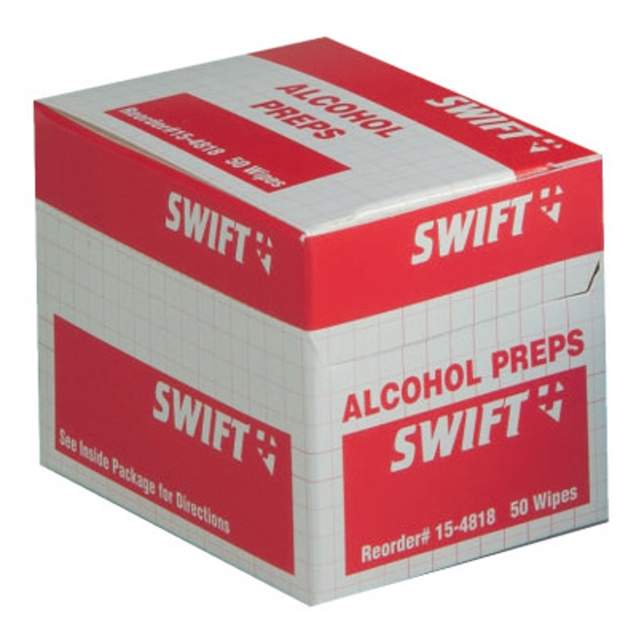 Alcohol Wipes, 70% Isopropyl Alcohol