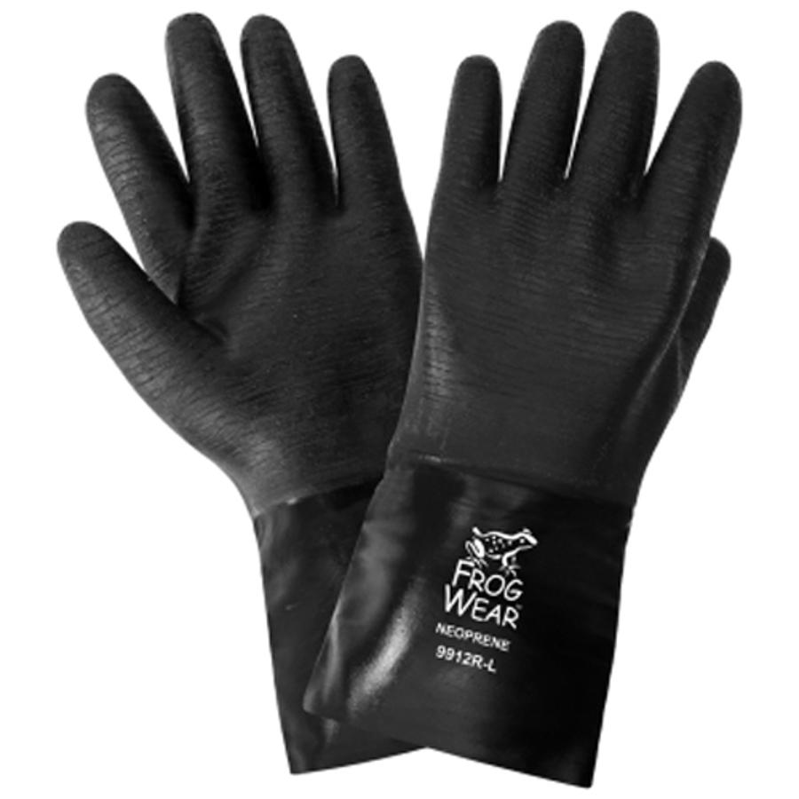 9912R- FrogWear - Premium Neoprene Chemical Handling Gloves