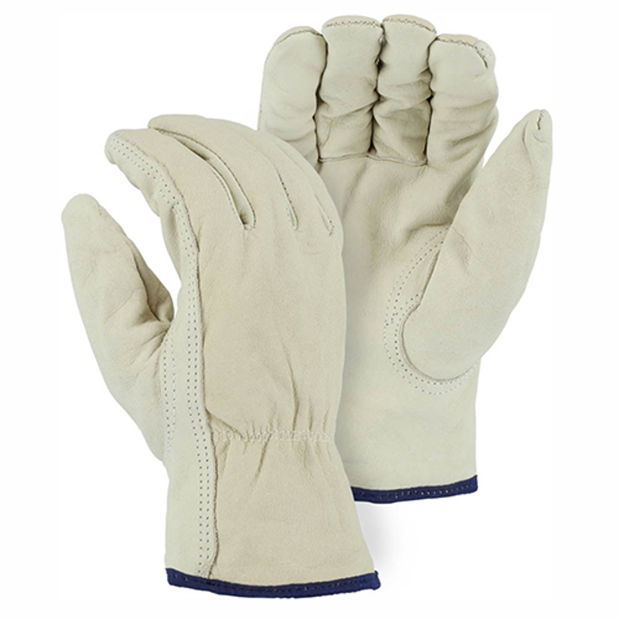 2511 Winter Lined Cowhide Drivers Glove