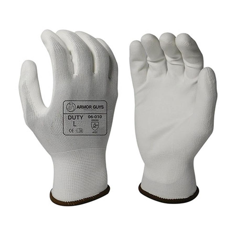 Armor Guys, White PU Palm Coating, 13 Ga, 06-010