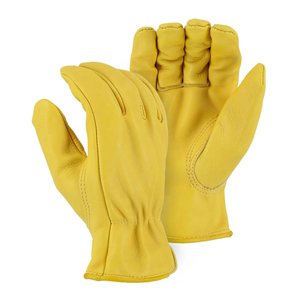 1510G Gold Grade A Cowhide Drivers Glove