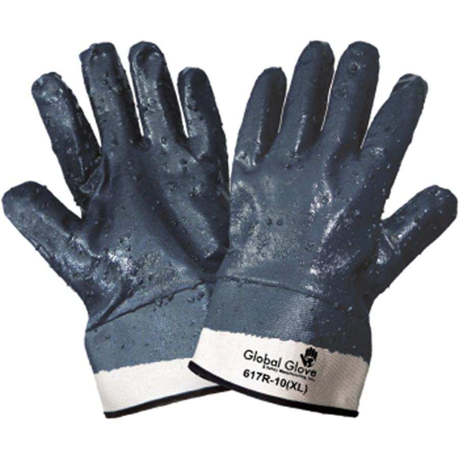 617R-10(XL)- General Purpose Work, Nitrile Diped Gloves