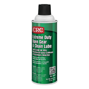 Extreme Duty Open Gear Chain Lube, 12 oz, Aersol Can
