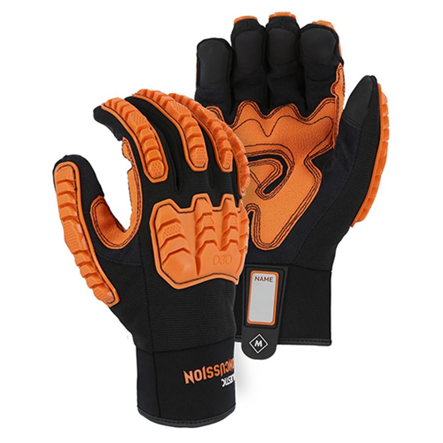 Armor Skin D3O Mechanics Glove, 21472BK X-Small