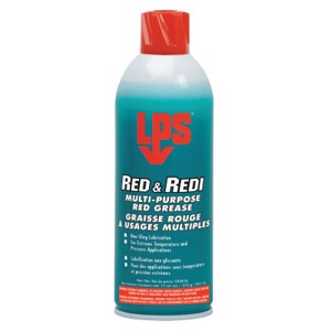 Red and Redi Multi-Purpose Red Grease, 16 oz Aerosol Can
