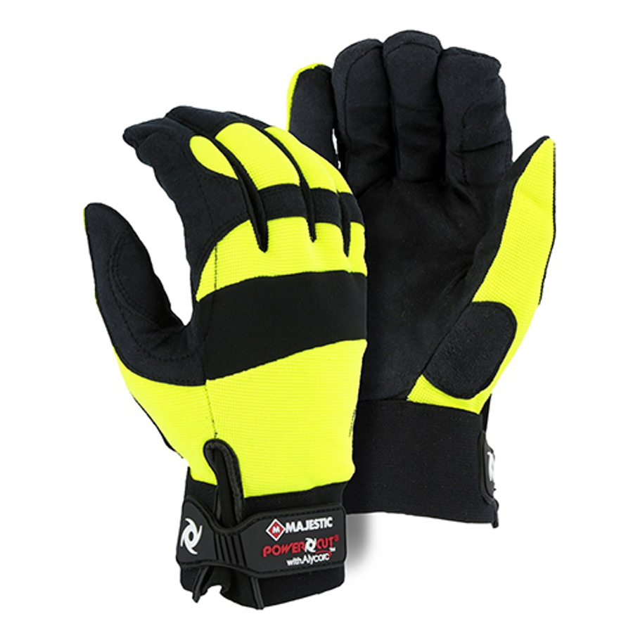 Alycore Cut & Puncture Resistant, 4 Layer in Palm Yellow Powercut, 2X-Large