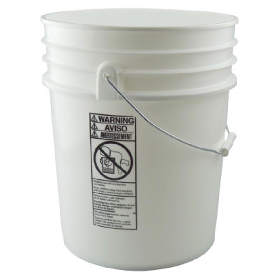 5 Gallon Plastic Bucket w/Lid