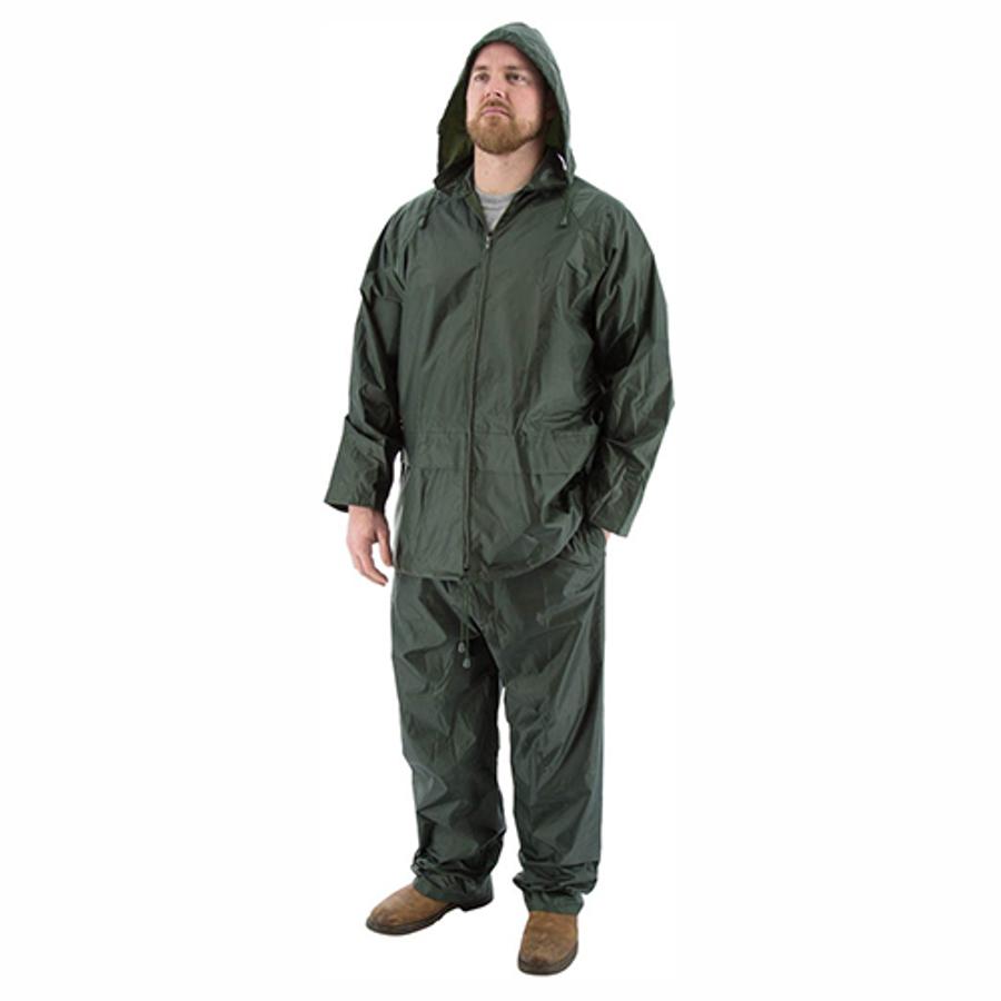 71-2000 2-Piece Hooded Waterproof Rain Suit