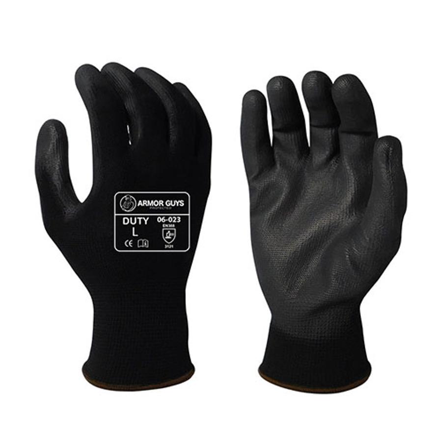 Armor Guys, Black PU Palm Coating, 13 Ga, 06-023