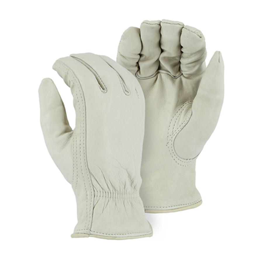 1511 Winter Pile Lined Cowhide Drivers Glove
