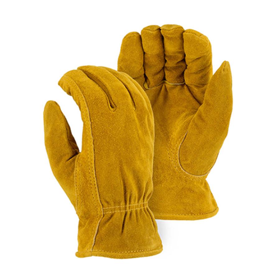 1513 Winter Lined Split Cowhide Drivers Glove