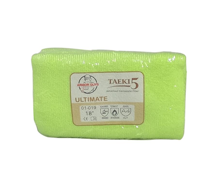 18in 100% Taeki5 Hi-Vis Green Sleeve, ANSI A4, Vend Packed