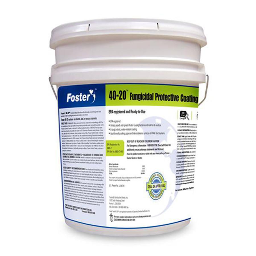 40-20 Fungicidal Protective Coating, White, 5 Gal