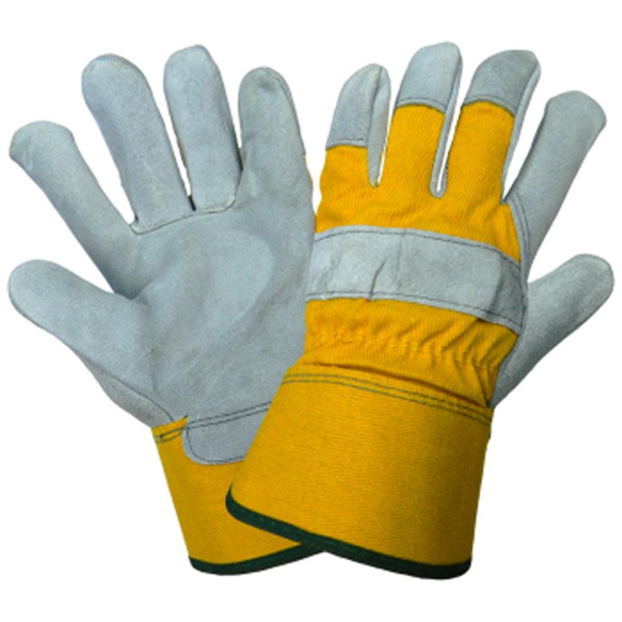 2190-7(S)- Leather Palm, Gunn Cut Glove