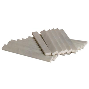 Soapstones, Flat, 1/2 in x 3/16 x 5 in, White