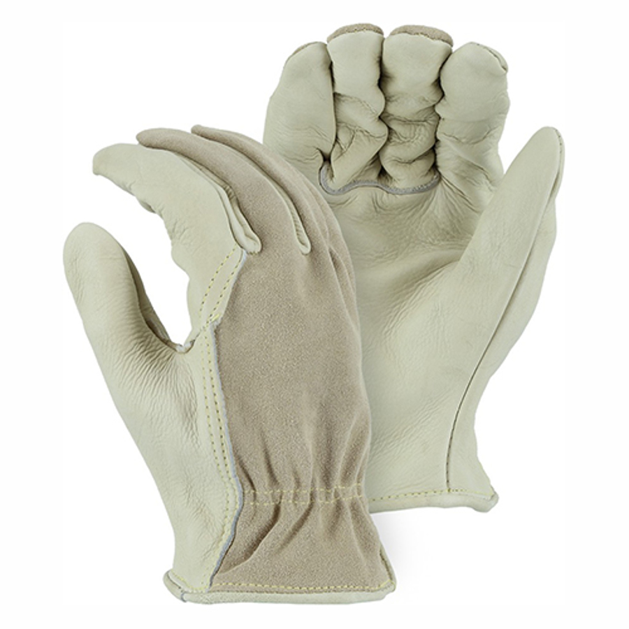 1551 Combination Cowhide Drivers Glove