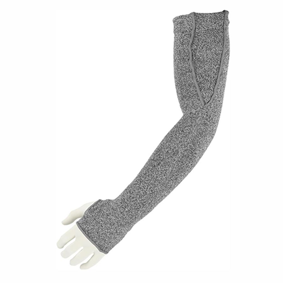 """18"""" 10-Gauge Dyneema Cut Resistant Sleeves, Thumb Hole, 3150-18TH"""