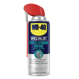 Specialist Protective Lithium Grease,10 oz, Aerosol Can, White