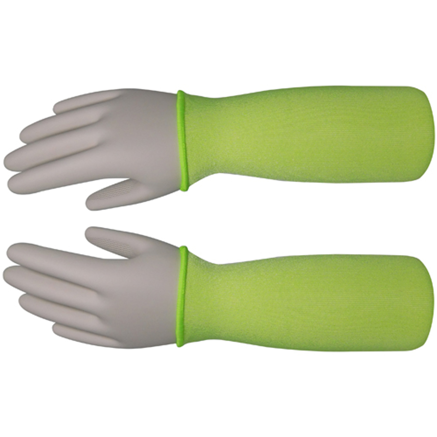 18in 100% Taeki5 Hi-Vis Green Sleeve, ANSI A4