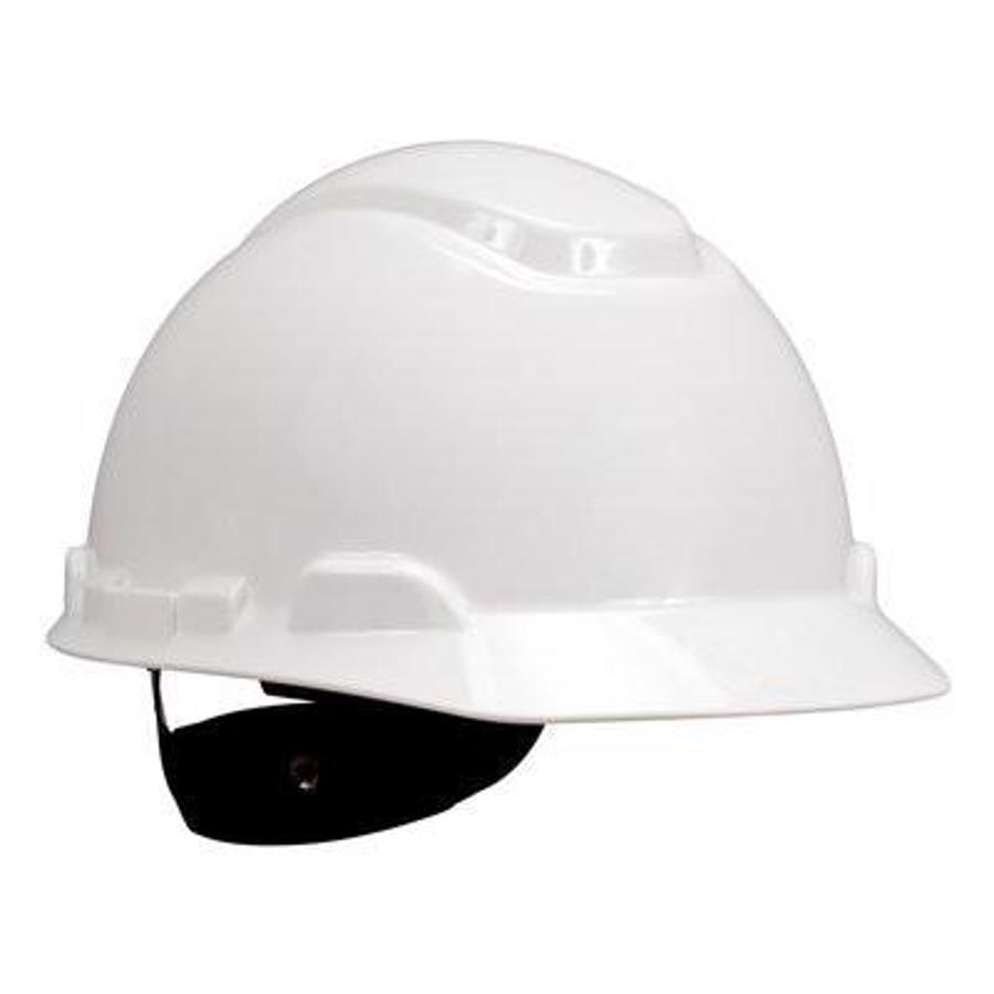 3M Hard Hat, Non-Vented, 4-Point Ratchet Suspension