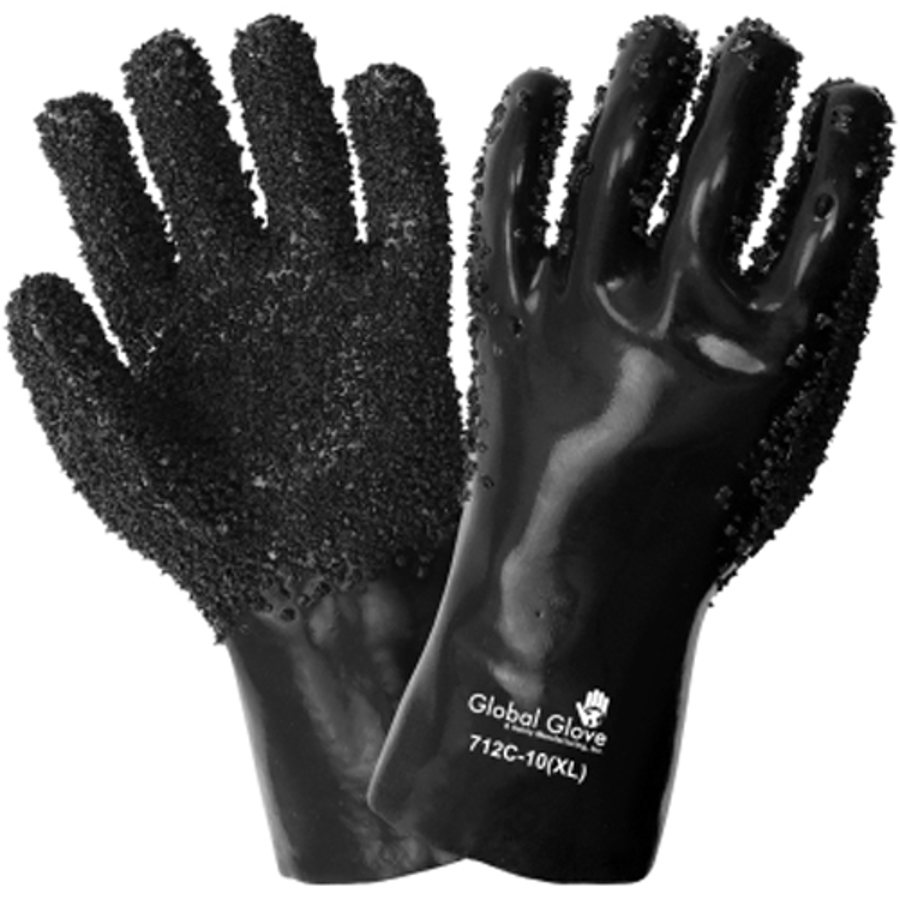 712C-10(XL)- Chemical Resistant Supported Neoprene, PVC and Nitrile Glove